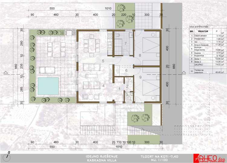 kaskadna-vila-middle-level-floor-plan
